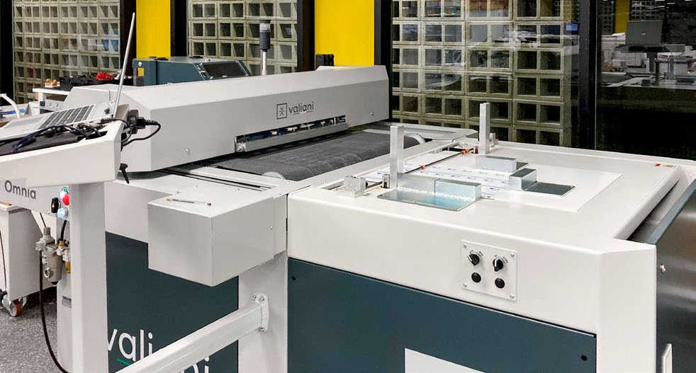 Fast Edit opts for Komori's ink-jet B2+ and Valiani's Omnia to acquire new customers
